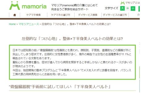 マモリア様インタビュー記事